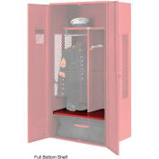 Penco 6SHX532C722 Patriot Locker Accessory Full Bottom Shelf 36Wx24D Patriot Red