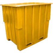 Bayhead KC-52-YELLOW Nesting Pallet Container 57x41x53 1500 Lb Cap. Yellow