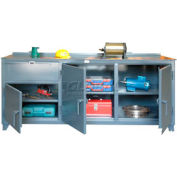 """Strong Hold 84"""" x 30"""" 12 Gauge Extra Wide Workbench"""