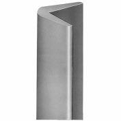 Durable Gray Rubber Corner Guard CG-1, Sold per Foot up to 10 Foot Length Maximum