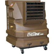 PortACool® Centrifugal Air Evaporative Cooler PAC2-KCY01A Brown Two Speed