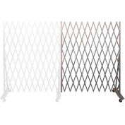 "Folding Security Gate Add-on 6'6""Hx6'W In-Use"