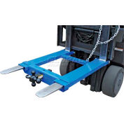 "Vestil Forklift Tow Base HOOK-BASE-44 for 48""L Forks 4000 Lb. Capacity"