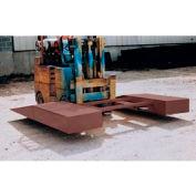 Optional Vestil Wheel Riser Central Forklift Pick-Up Assembly SWR-CPL