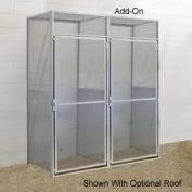Hallowell BSL484890-R-1A-PL Bulk Storage Locker Single Tier Add-On 48x48x90