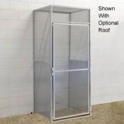 Hallowell BSL486090-R-1S-PL Bulk Storage Locker Single Tier Starter 48x60x90