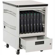"Datum LapTop Depot Pedestal 8 Laptop Capacity 2"" Nylon Wheels, Series LTDP8-2"