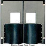Chase Doors Extra HD Single Panel Traffic Door 3'W x 7'H Metallic Gray DIS3684-MG