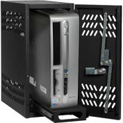 Datum Large Hanging CPU Locker-BLACK, Series CPU2