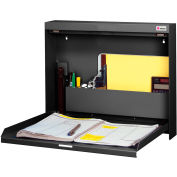 Datum Wallwrite Fold-up Desk-Non-Locking-BLACK