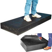 "7/8"" Thick Anti Fatigue Mat - Black 36X66"