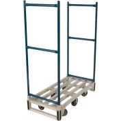 Wesco® Aluminum Narrow Aisle Platform Truck 273290 48 x 22-1/2 1750 Lb.