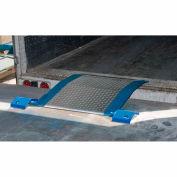 Bluff® SL4848 Spring-Loaded Aluminum Dockplate 48 x 48 2670 Lb. Cap.