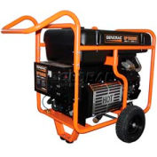Generac® Portable Generator W/ Electric/Recoil Start, Gasoline, 15000 Rated Watts