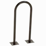 U-Rack Bike Rack, Black, 2-Bike, Flange Mount
