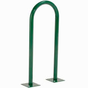 U-Rack Bike Rack, Green, 2-Bike, Flange Mount