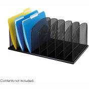 Onyx™ 8 Upright Sections Desktop Organizer