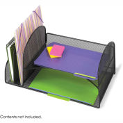 Mesh Desk Organizer with Two Vertical/Two Horizontal Sections