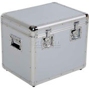 "Vestil CASE-M Aluminum Storage Case Medium 21-1/2"" x 16-1/4"" x 19-1/4"""