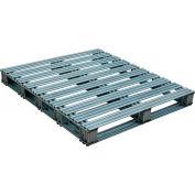 Galvanized Steel Pallet 42 x 48 x 4-3/4 8000 lbs Capacity