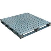 Galvanized Steel Pallet 48 x 48 x 4-3/4 8000 lbs Capacity