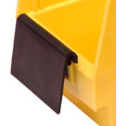 Quantum 10 Degree Angle Label Holder ELH410 for Shelf Bins Price Per Pkg of 24