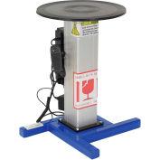 """Vestil Turntable with Powered Height Adjustment TT-18-LA 18"""" Diameter"""