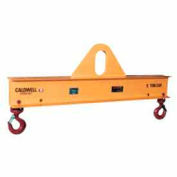 Caldwell Low Headroom Multiple Spread Lifting Beam 20-5-10 10,000 Lb. Cap. 10'L