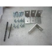 Mounting Bracket Kit for Square Tubular Adjustable Height Leg with Phenolic Bench Top