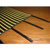 "24"" Heavy Duty Black Cable Tie - Pkg Qty 4"