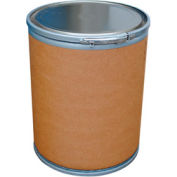 Vestil 15 Gallon Fiber Drum FD-15 with Steel Chime & Steel Lid