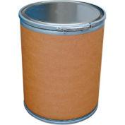 Vestil 15 Gallon Fiber Drum FD-15 with Steel Chime & Steel Lid