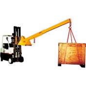 Caldwell HD Adjustable Pivoting Forklift Jib Boom Crane PB-80S 8000 Lb. Cap.