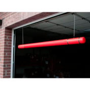"120"" Clearance Bar - Red Bar/Black Tapes"