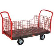 Rubbermaid® 4485 Side Panel Platform Truck 48 x 24 1200 Lb. Capacity