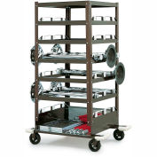 Universal Storage Cart for Barrier Post