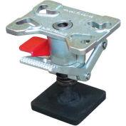"Vestil Adjustable Height Steel Floor Lock FL-ADJ-46 for 4"", 5"" & 6"" Casters"