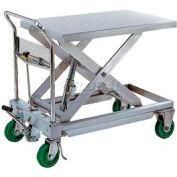 Vestil Stainless Steel Mobile Scissor Lift Table CART-1100-SS 1100 Lb. Capacity