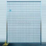 Welded Wire Galvanized Fence - 8 Panel Kit