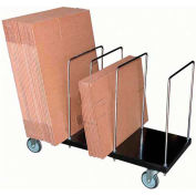 Vestil Portable Carton Storage Truck Single Level CTPT-1844-CK 400 Lb. Capacity