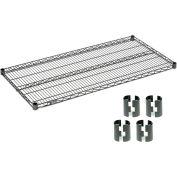 Nexelon™ Wire Shelf 60x24 With Clips