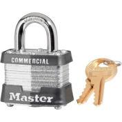 """Master Lock® Laminated Padlock - 3/4"""" Shackle - Keyed Alike - Pkg Qty 3"""