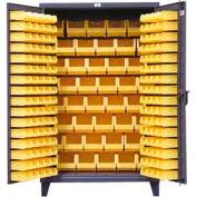 Strong Hold® Heavy Duty Bin Cabinet 46-BB-240 - With 184 Bins 48x24x78