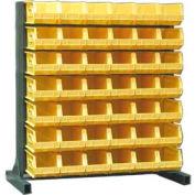 Strong Hold® Heavy Duty Bin Rack 55-BR-42 - Single-Sided With 42 Bins