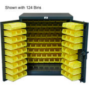 Strong Hold® Heavy Duty Counter Top Bin Cabinet 43-BB-240 - With 140 Bins 48x24x36