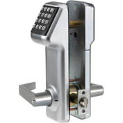 Access Cylindrical Lock Schlage C Keyway 160 Codes, Satin Chrome