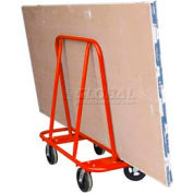 Bluff® Orange Sheet Rock Drywall Dolly SRD-KIT-GO 2000 Lb. Capacity