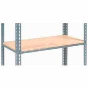 "Additional Shelf Level Boltless Wood DecK 48""W x 24""L - Gray"