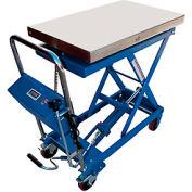 Vestil Mobile Scissor Lift Table with Integral Scale CART-500-SCL 500 Lb. Cap.
