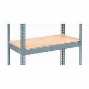 "Additional Shelf Level Boltless Wood Deck 36""W x 18""D - Gray"